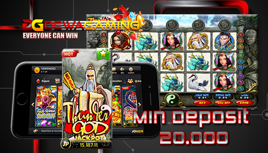 JP Mudah Mainkan Slot Thunder God Joker123